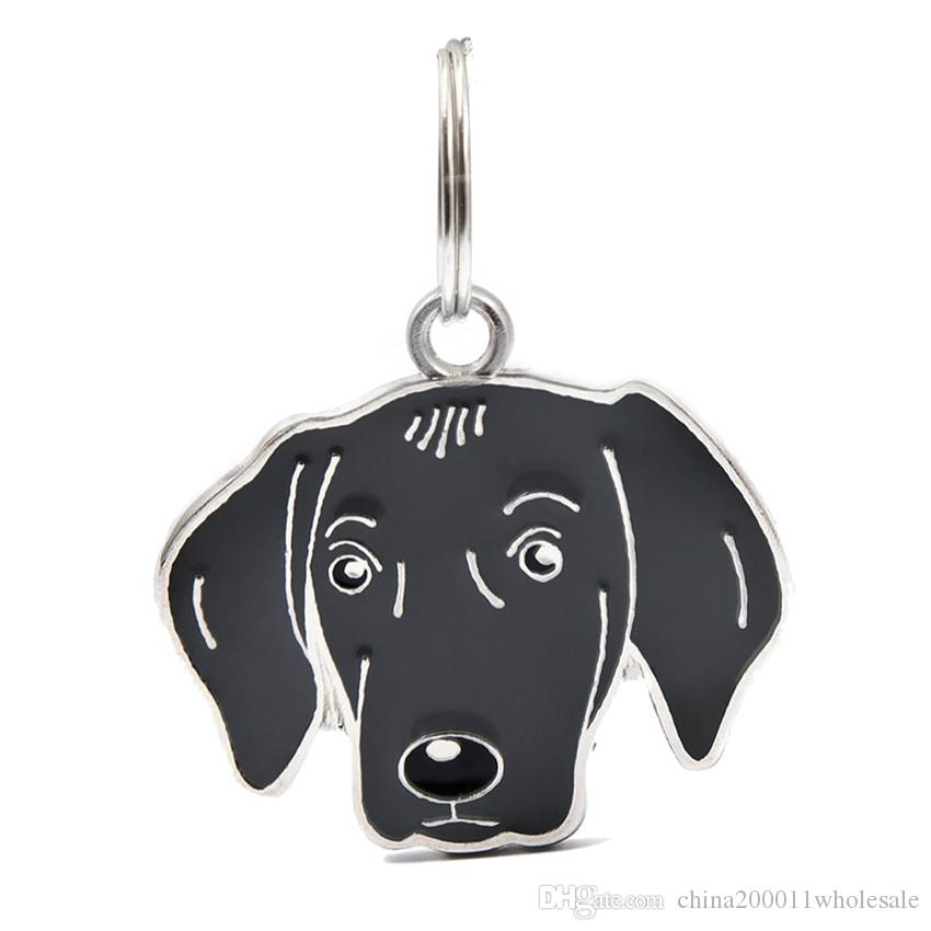 New Arrival Dog Pendants Hang Charms With 14mm Open Jump Rings Fit For DIY Key Chain Keyrings Pet Collar Jewelry Making HC466