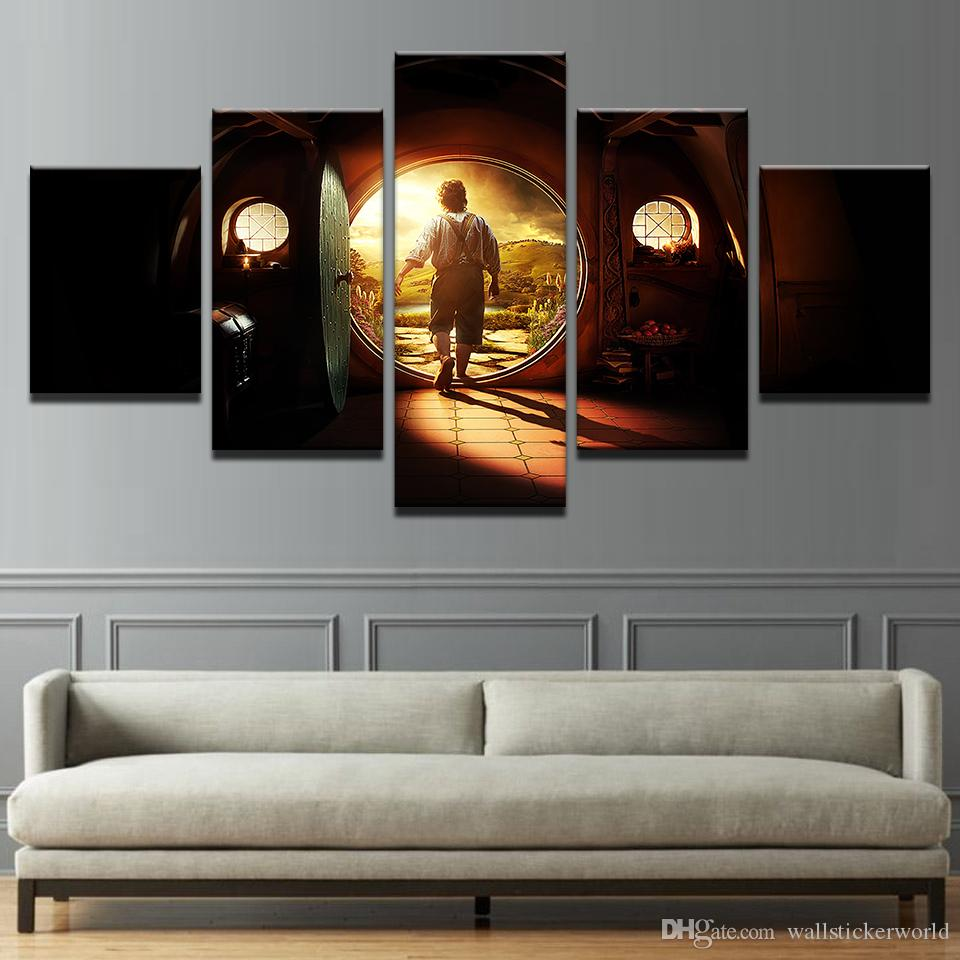Canvas Pictures Home Decor Wall Art Lord Of The Rings Paintings Living Room HD Prints Abstract Movie Posters Framework