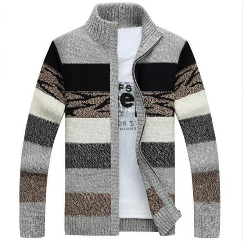 TIMESUNION Men S Knitted Sweaters Cardigans Collar Winter Wool Sweater  Fashion Cardigans Male Sweaters Coat Brand Men S Clothing UK 2019 From  Xiatian5 518ac8bdc