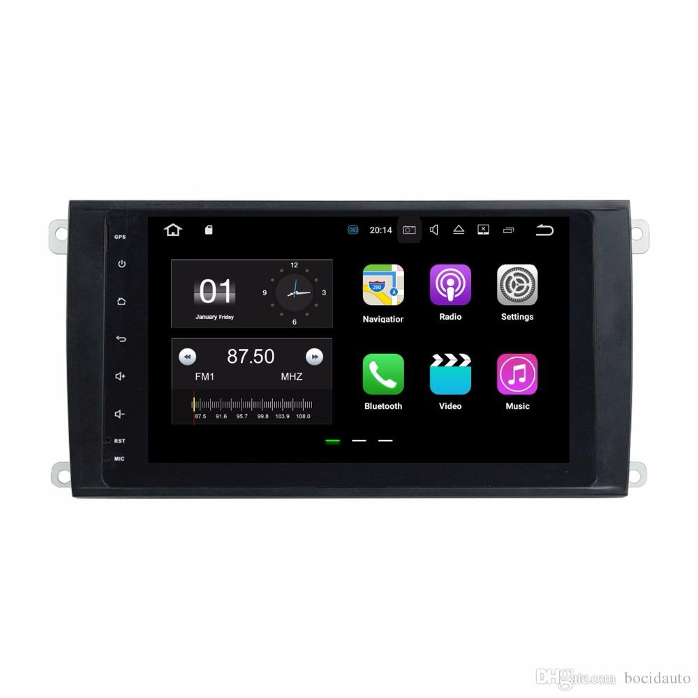 2GB RAM 8 Android 7.1 Car DVD Player For Porsche Cayenne