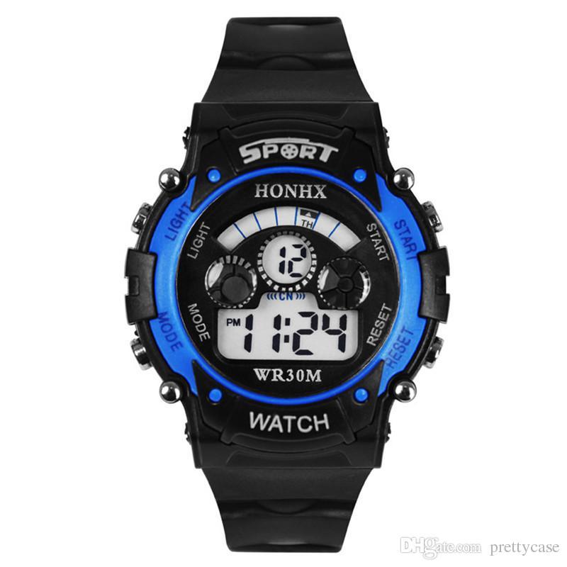 cc1ee16f903f Compre Relojes De Lujo Para Niños Multifunción Electronic LED Militar Reloj  De Pulsera Hombres Mujeres Deportes Al Aire Libre Relojes Impermeables Reloj  De ...
