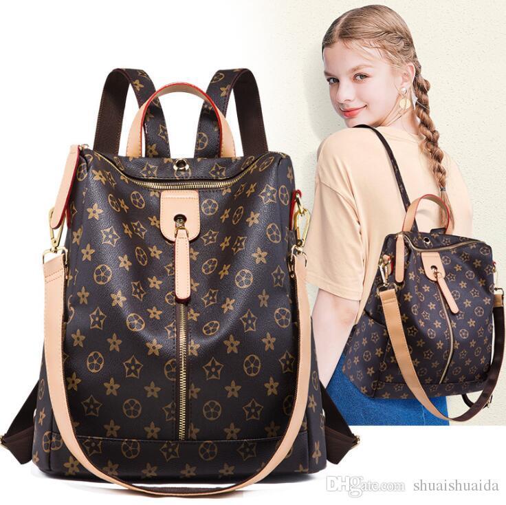 d1166e95f3af Cowhide +High Quality PVC Backpack Leisure Backpack Lady Bag Travel Bag  Small Big Capacity Handbag Woman Bag Backpack Style Fashion Bags AW7  Rucksack ...