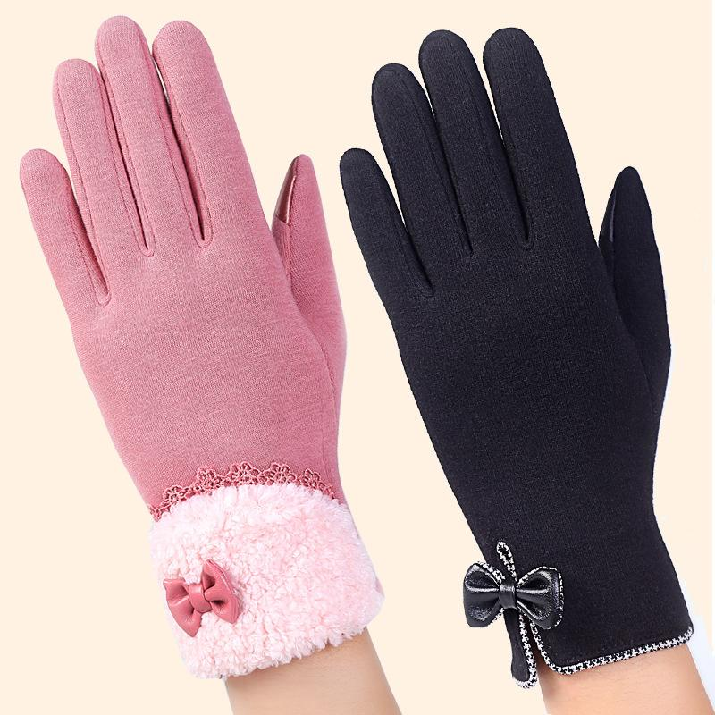 Temperate New Fashion Warm Winter Men Pu Leather Gloves High Quality Casual Thickened Velvet Black Male Full Fingers Mittens Accessories Back To Search Resultsapparel Accessories