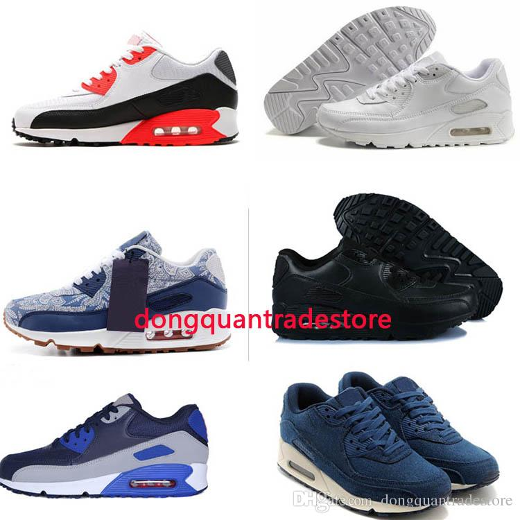 Men Sneakers Shoes Classic 90 Men And Women Running Shoes Sports ... 8d841dd8b2c3