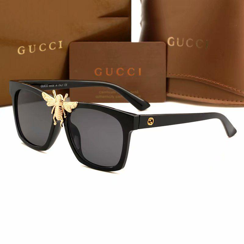 dc352e6707a 2018 Fashion Luxury Style Bee Logo 0239 Sunglasses Women Man Big Square Sun  Glasses Brand Designer Eye Glasses Womens Sunglasses Sunglasses Sale From  Awowo