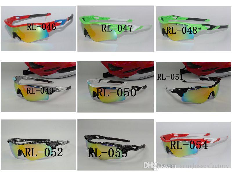 Best Quality TR90 Ski Goggles Sun Glasses Outdoor Sports Bicycle Bike Sunglasses 5 Lens Uv400 Polarized Myopia Cycling