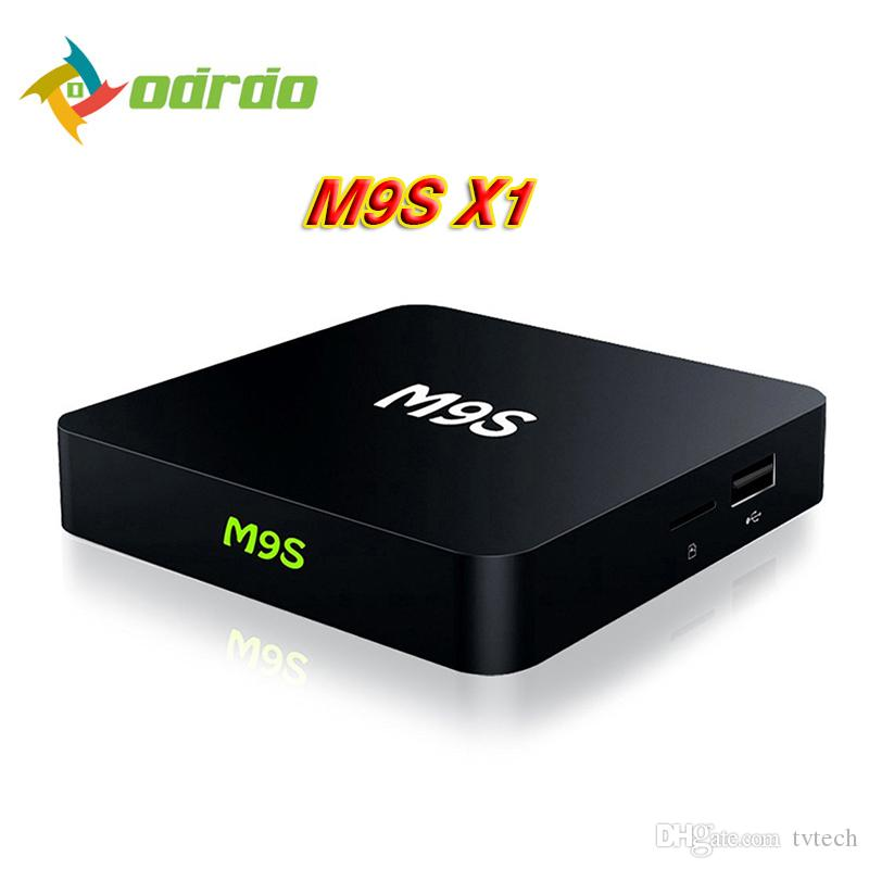 2018 Oem Latest M9s X1 Android Tv Box Amlogic S905x Quad Core