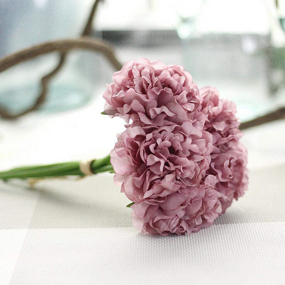 2019 Home Decorative Flowers European Artificial Silk Flowers China