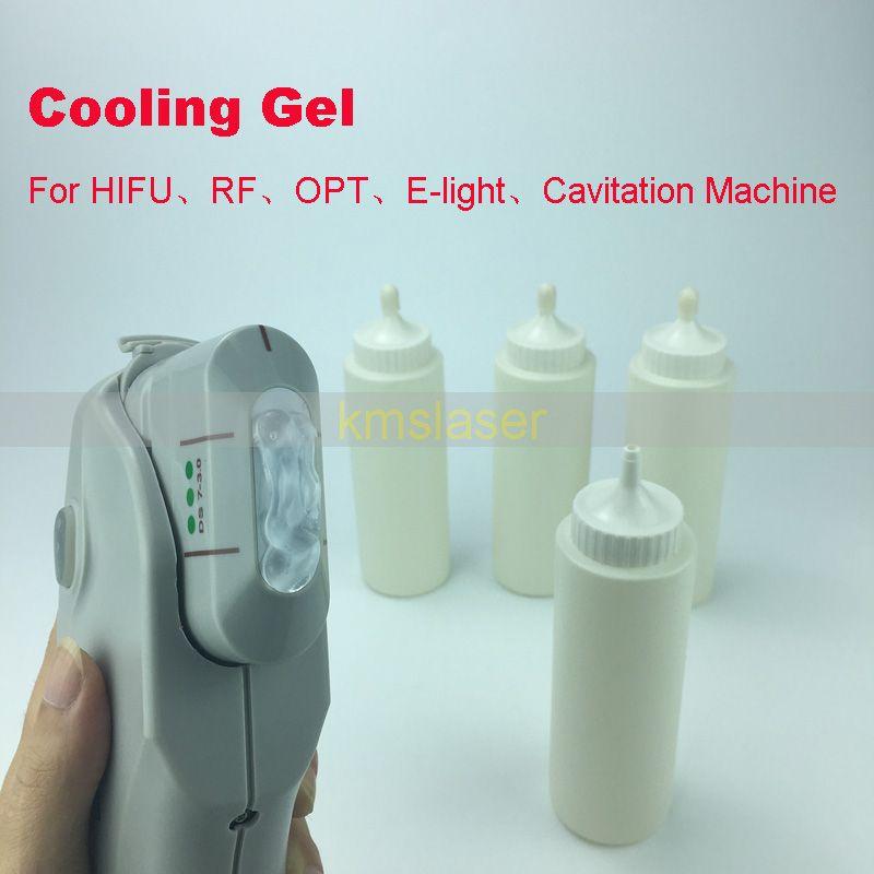 Gel di HIFU IPL ELIGHT rf Ultrasuoni gel di raffreddamento ad ultrasuoni la perdita di grasso che dimagrisce macchina la cura della pelle