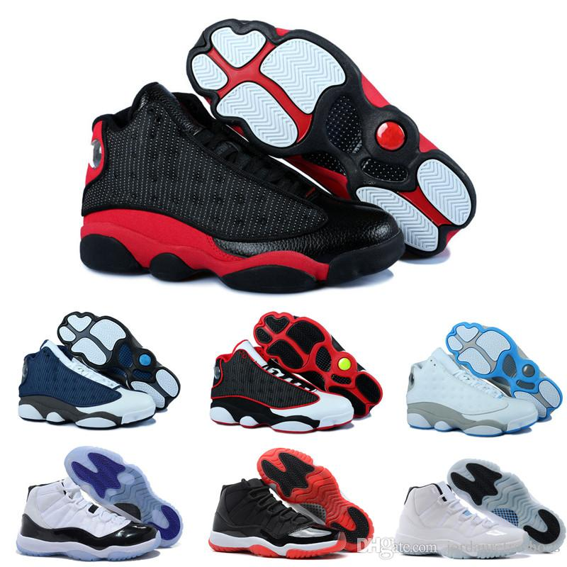 buy popular 5f597 68f0a High Quality Basketball Shoes 13 13s Black Red White Blue Black Cat  Sneakers 11 Gym Red Space Jam Male Sports Shoes Sneaker