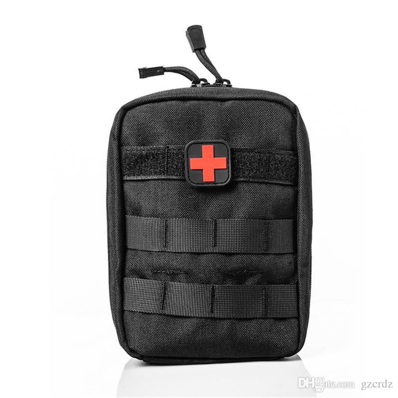 Outdoor Travel First Aid Kit Tactical Medical Bag Multifunctional Waist Pack  Camping Climbing Emergency Case Survival Kits Tactical Backpacks  Multi-function ... 54d2279f4b001
