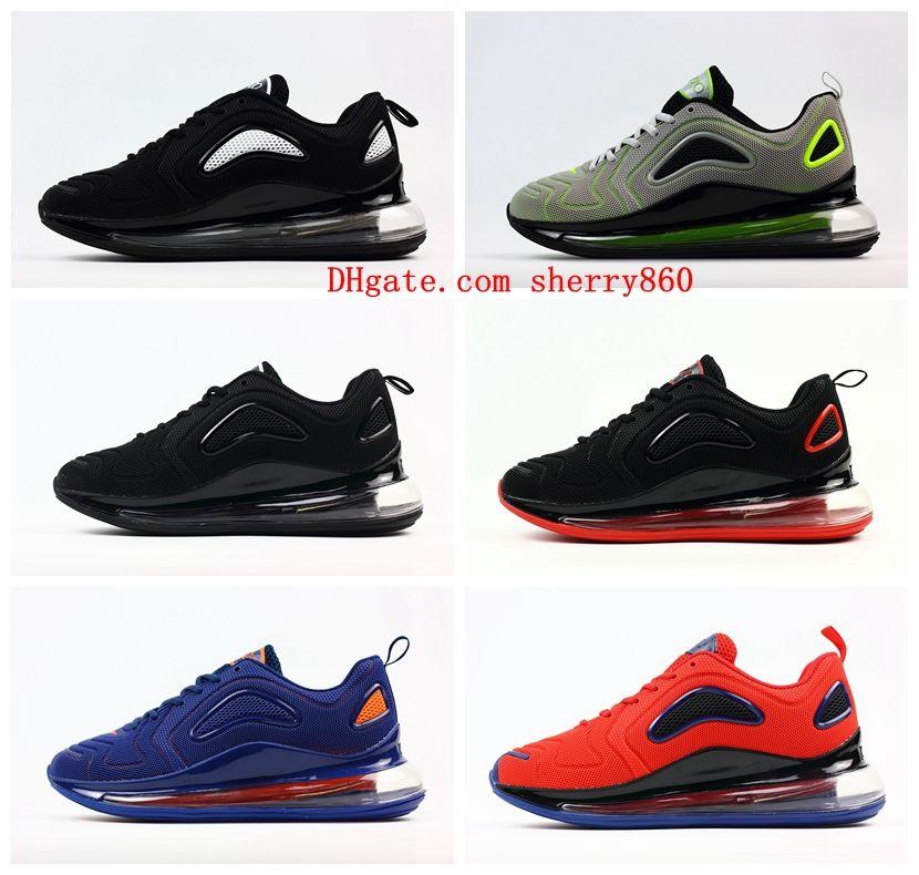 cheap for discount fccf9 33785 De De De D air 720 720 720 Course Chaussures Noir Acheter Kpu Hommes  Coussin Blanc WYqp5wwST