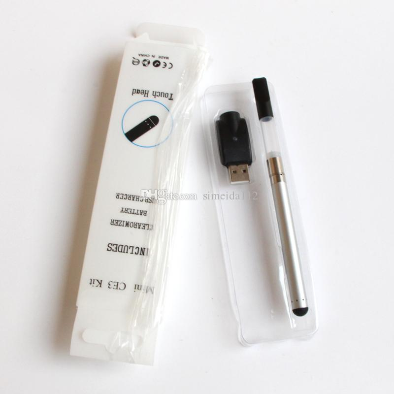 Top quality Mini CE3 Blister Kit BUD Touch Kits O PEN Oil Atomizer Ce3 Vaporizer 280mAh Bud Touch Battery Ce3 E Cigarette Starter Kit