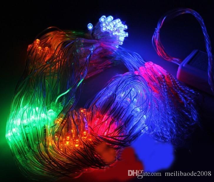 8 meter * 10 net lampe, fischernetz lampe, Weihnachten im freien wasserdichte reis LED voller himmel stern Hochzeit Weihnachten dekorieren lampe LLFA