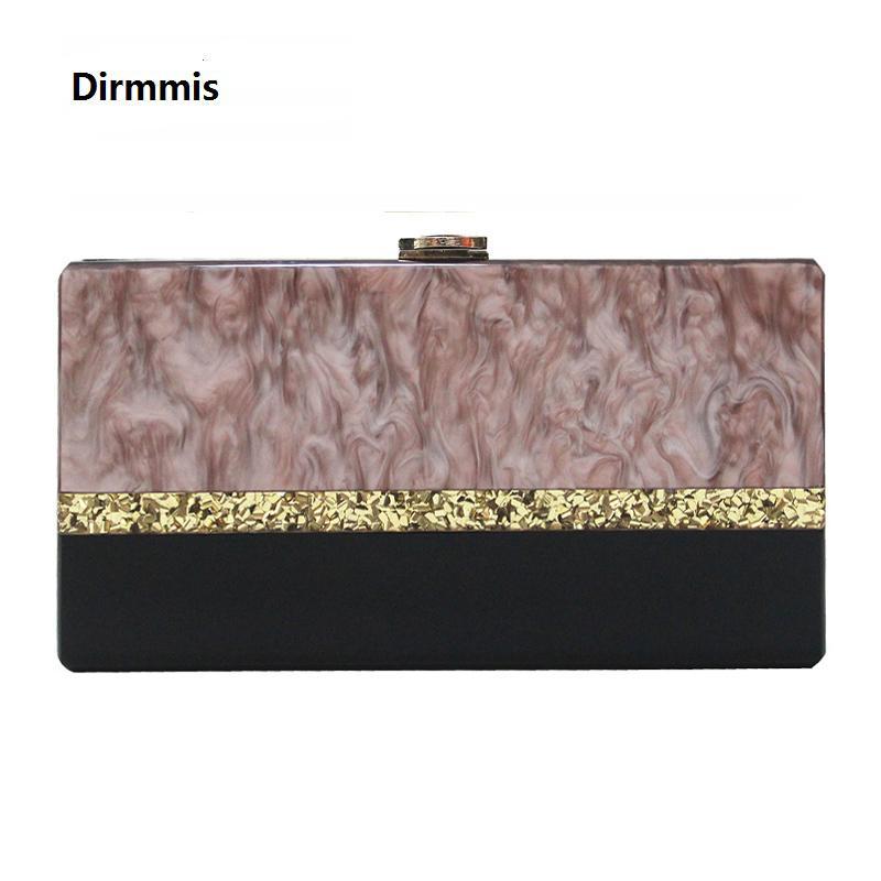 2018 New Brand Wallet Women Eveningbag Fashion Elegant Stripe Acrylic  Shoulderbag Woman Luxury Unique Hard Handbag Casual Clutch Y18103003 Big  Handbags ... df9e1957c60f