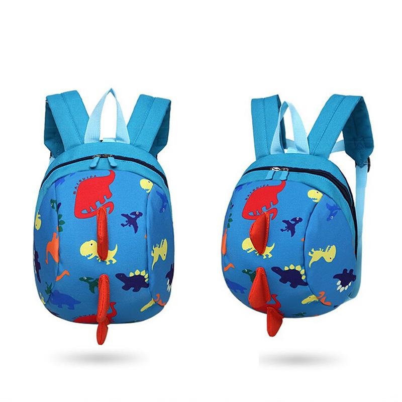 79142adeb102 3D Dinosaur Cartoon School Bag Cartoon Dinosaur Backpack Toddler Anti Lost  Band Kids Animal Bag For Girls Boys Dakine Backpacks Back Pack From  Wangbeiche