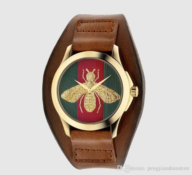 Heißer Verkauf 2018 frauen Uhren Weiche Ledergürtel Goldene Mode Armbanduhr Mit Strass Quarz Weiblichen Uhr Armband Reloje