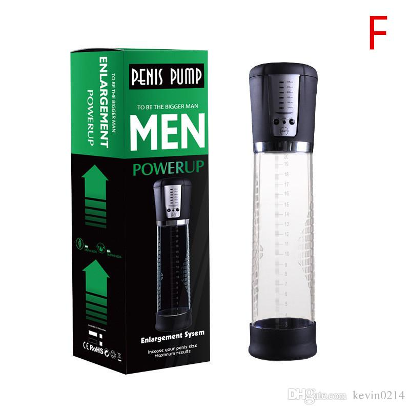 New 7 Models Male Vacuum Penis Pump Phallus Enlargement Extensions Device Penis Extender Sex Products Pumps & Enlargers for Men B2-4-2