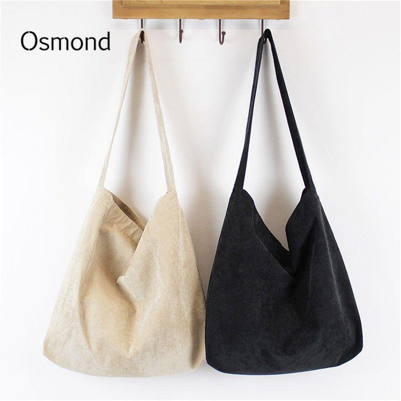 119904232c475 Women Corduroy Bag Female Shoulder Bags Vintage Winter Velvet Handbags  Casual Clutch Messenger Bag Lady Totes for Sling Bolsa