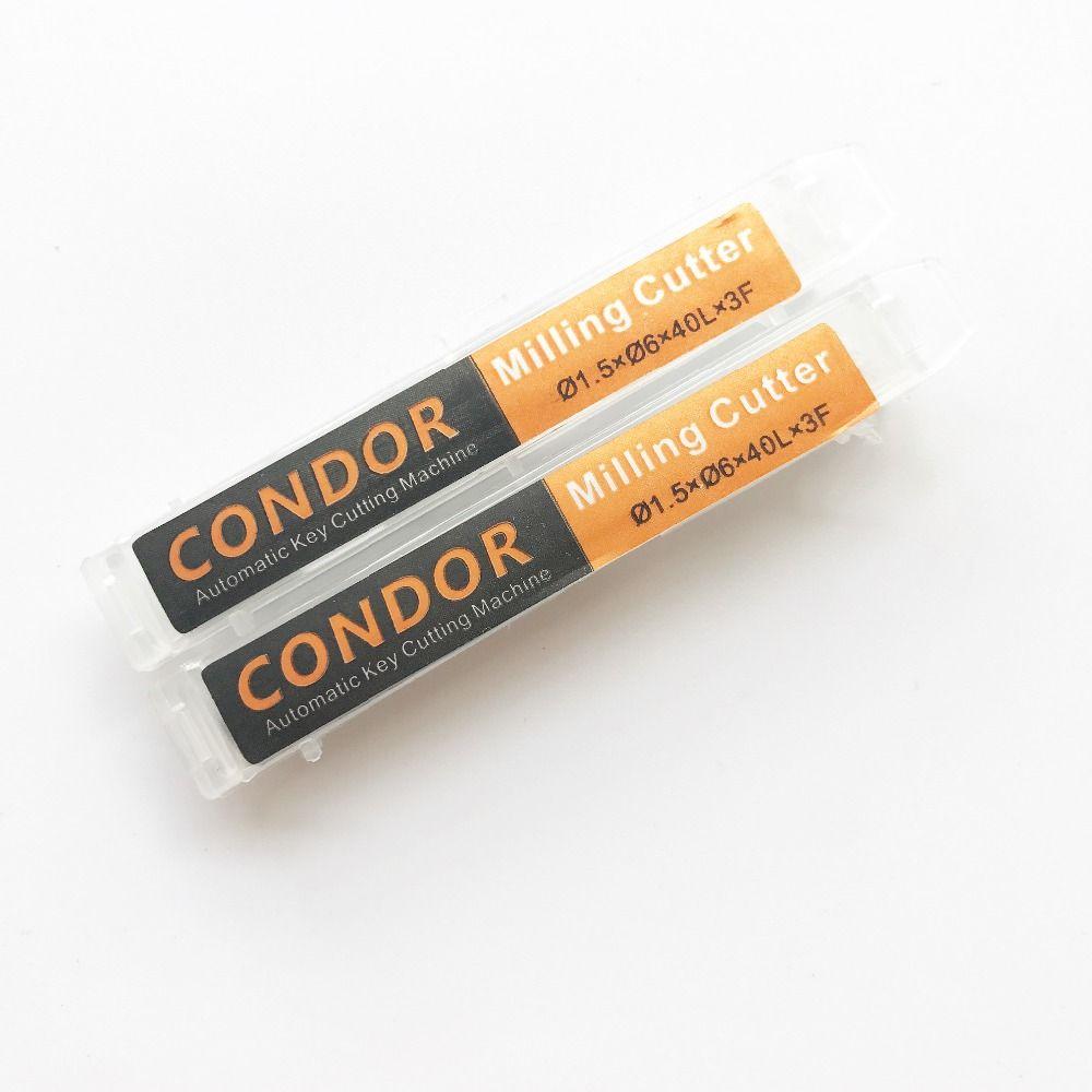 Оригинал Xhorse 1.5 мм фреза сверло для мини Кондор IKEYCUTTER Кондор XC-мини мастер серии ключевых резки