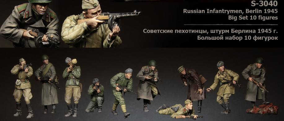 tuskmodel 1 35 scale resin model figures kit soviet big set 10