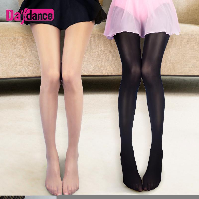 eaea26c10b0 2019 Nude Glossy Glitter Stockings Women High Elastic Pantyhose Oil Shiny  Dance Tights 70D From Vikey08