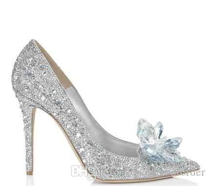 discount 2014 newest eastbay for sale 7cm 5cm heel sliver big size 41 Crystal shoes dressing with gauze white Cinderella water diamond bride wedding shoes 481 amazon cheap price clearance amazon discount official site UwFxyQuRC