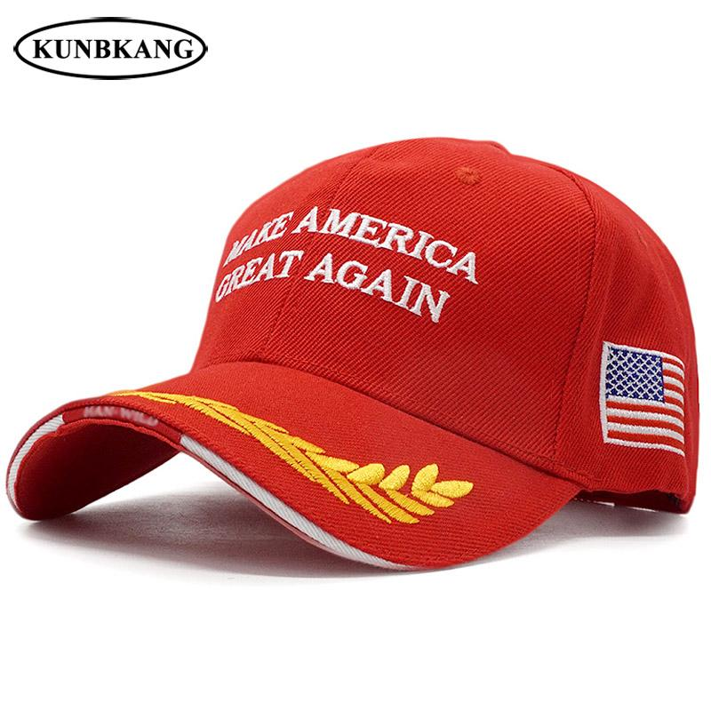 61f6ec39a0d New Make America Great Again Hat Men USA Flag Baseball Cap Trump Embroidery  Letter Tactical Dad Caps Trucker Snapback Hats Bone Fitted Caps Black  Baseball ...