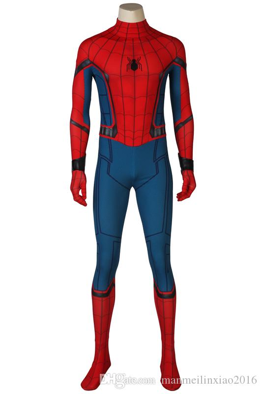 La dernière guerre civile Spiderman 3D Shade Spandex Fullbody Cosplay Costume Halloween