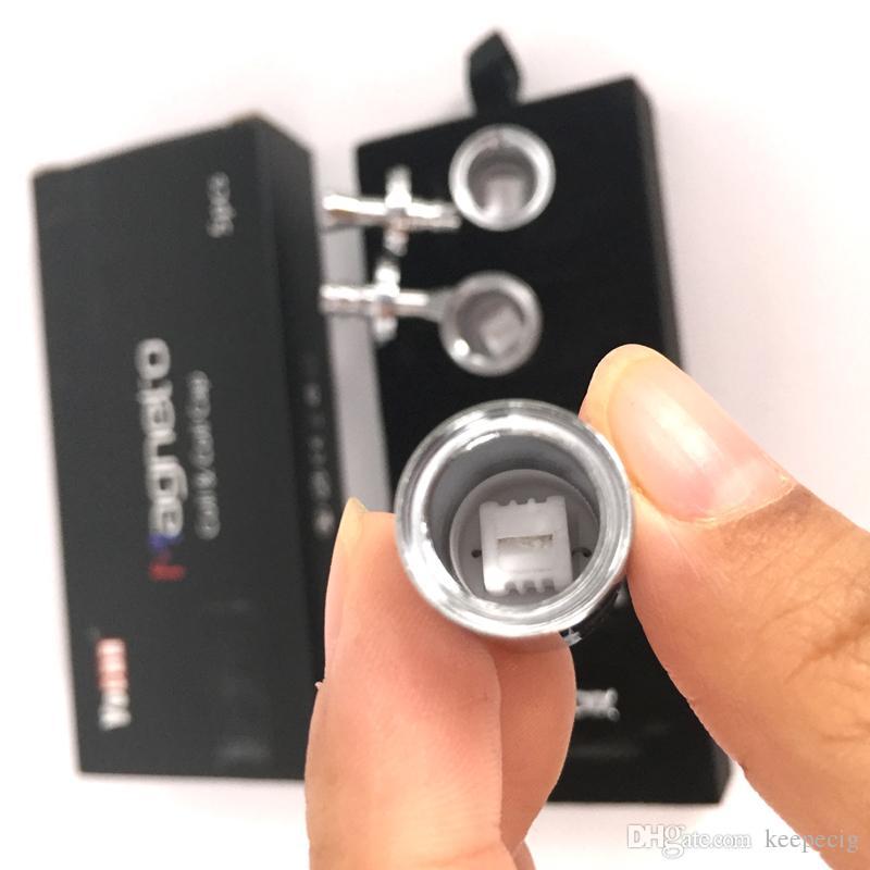 Yocan Магнето катушки керамическая замена воска головка с магнитной крышкой и Dab инструменты чистый аромат подлинный 100% оригинал