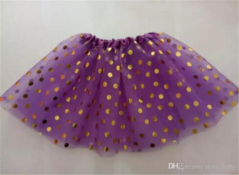 girls gold polka dot tutu skirt baby christmas tutus kids tutu skirts toddler skirts red infant pettiskirt newborn photography props B11