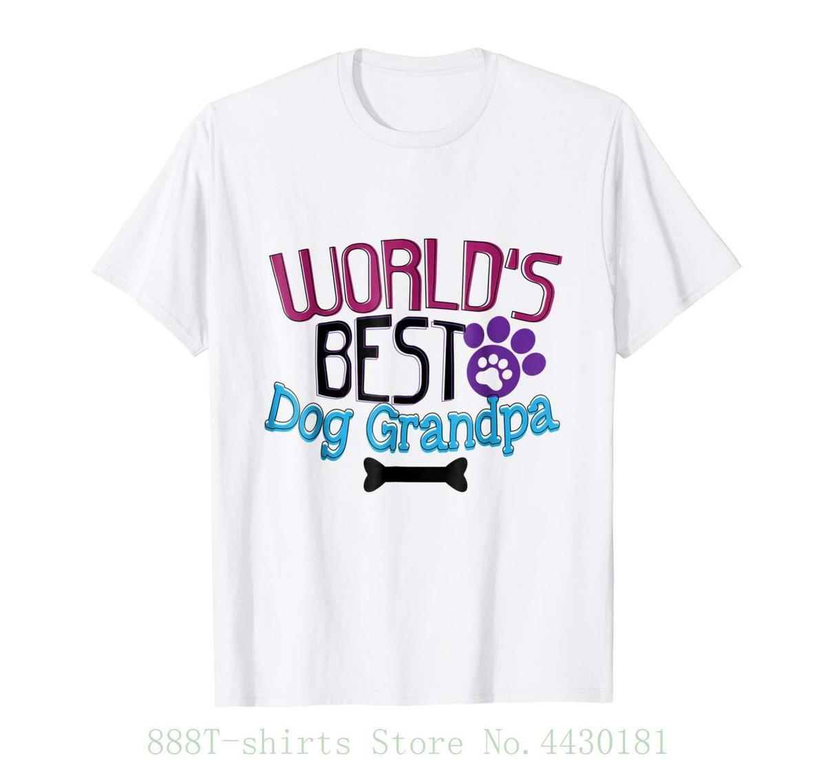 a8b907958 Women'S Tee Grandpa Dog Lover Grandparents Gifts T Shirt Animal Rescue 100%  Cotton High Quality Woman Crazy T Shirt Design Comedy T Shirt From Jie54,  ...