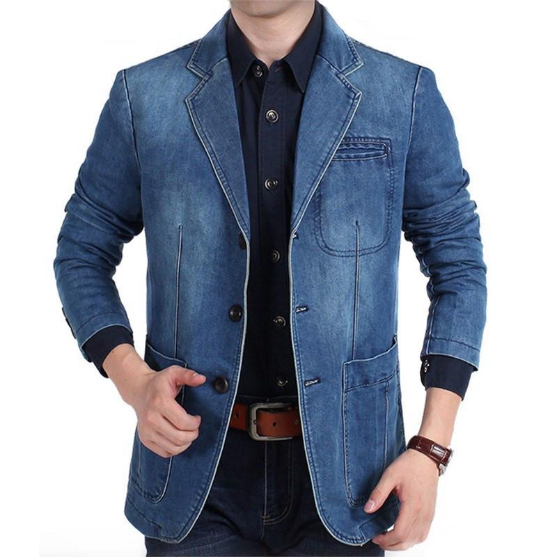 Grosshandel Plus Grosse M 4xl 2018 Herbst Winter Jeans Blazer Manner