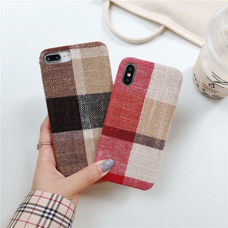 tartan iphone xs max case