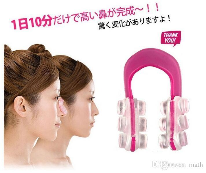 Bridge Straightening Shaping Lifting Nose Up Clip Silicon Gel Beauty Nose Shaper For Nose Massage