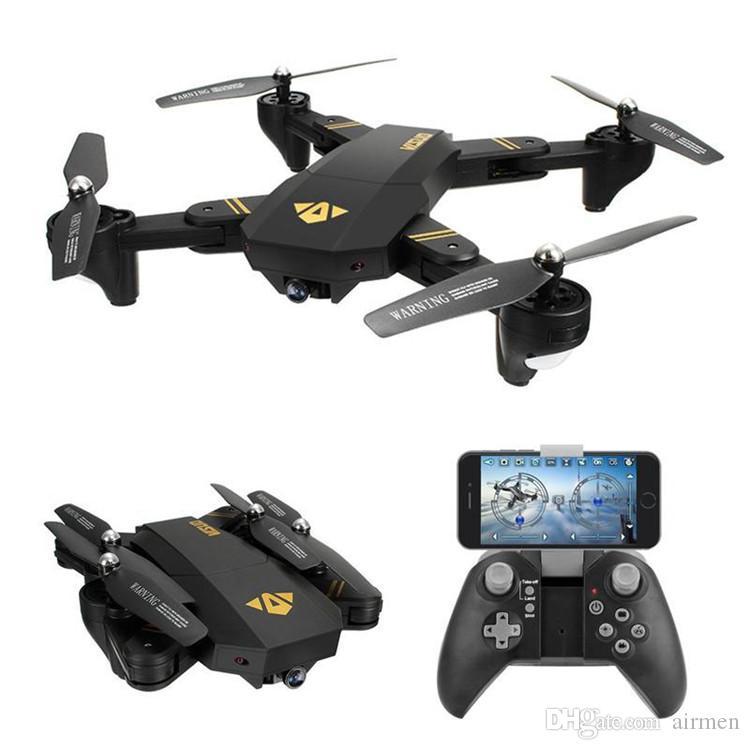 XS809HW كوادكوبتر الطائرات واي فاي FPV 2.4G 4CH محور 6 الارتفاع التملك وظيفة RC الطائرة بدون طيار مع 720P HD كاميرا 2MP الطائرة بدون طيار RC لعبة طوي الطائرة بدون طيار