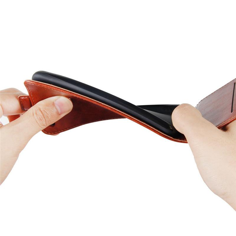 Pour WIKO France Téléphone Flip portefeuille vertical étui en cuir titulaire de la carte de couverture Photo Frame View2 Pro Max Voir 2 lite Go Jerry3 Lenny5 Tommy3