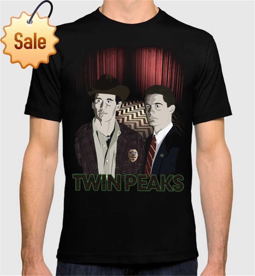 b672c758c 2018 Fashion Brand Twin Peaks Art Men's Women's T-Shirt David Lynch ...