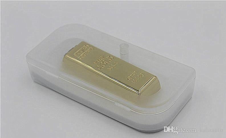 골드 바 OTG 16 기가 바이트 32 기가 바이트 64 기가 바이트 128 기가 바이트 USB 플래시 드라이브 금속 펜 OTG 드라이브 USB 메모리 스틱 Pendrive 엄지 드라이브