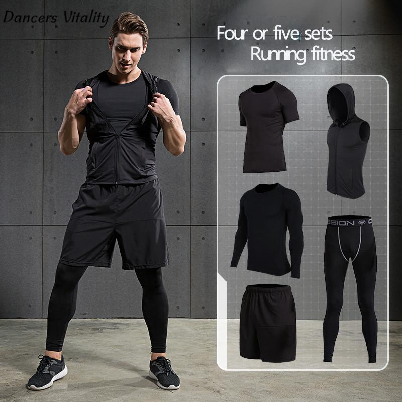 6aac897f7890 2019 2017 Vansydical Mens Sport Suit Running Suits Men Gym Clothing Workout  Sports Suits Basketball Jersey Training Tracksuits From Comen