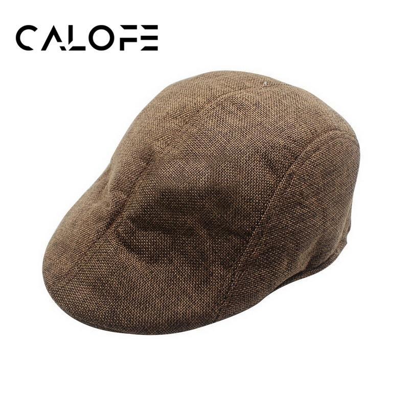 2019 CALOFE Mens Knitted Wool Newsboy Hat Mens Womens Duckbill Cap Warm  Beret Cap Gentleman Casual Unisex Berets Caps Winter From Hoganr 7656efc71f8