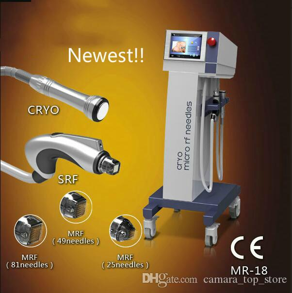 Superficial MRF SRF Microneedle Fractional RF Microneedle Machine Cryo Skin  RF for Facial Lifting and Skin Rejuvenation