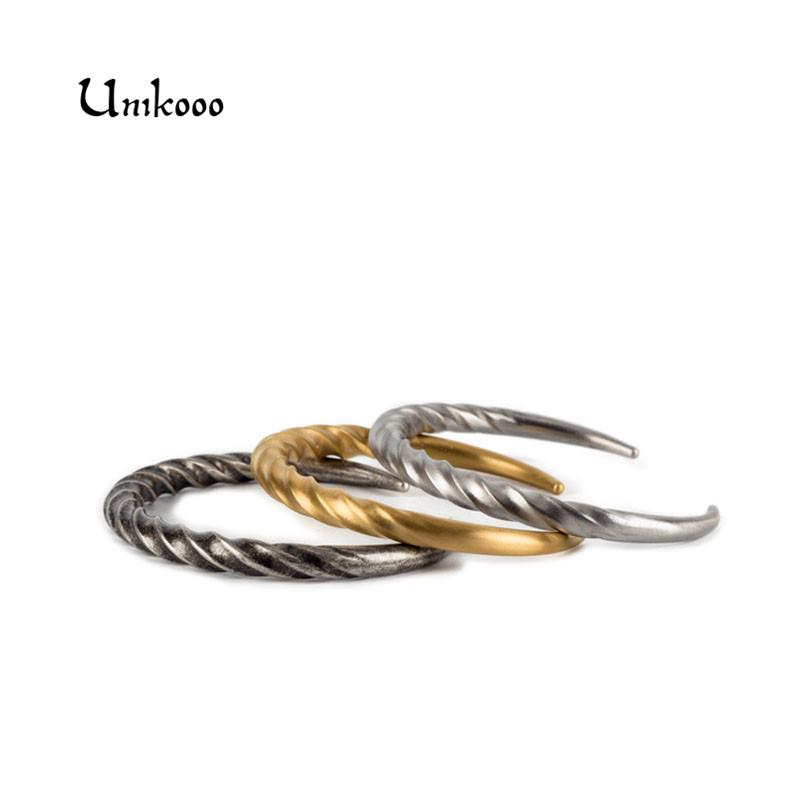 4f81ce30875 Horn Bangle Stainless Steel Twist Bracelet Mens Horn Cuff Bracelets Twisted  Bangles For Men Jewelry Dropshiping Enamel Bangle Gold Bangles Images From  ...