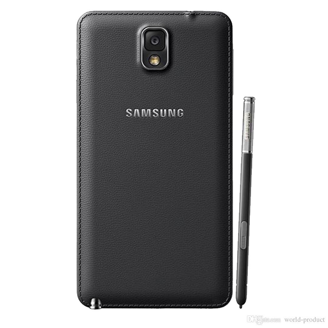 Refurbished Samsung Galaxy Note 3 N900A 5.7 inch Quad Core 3GB RAM 32GB ROM 13MP Quad Core Original Smartphone