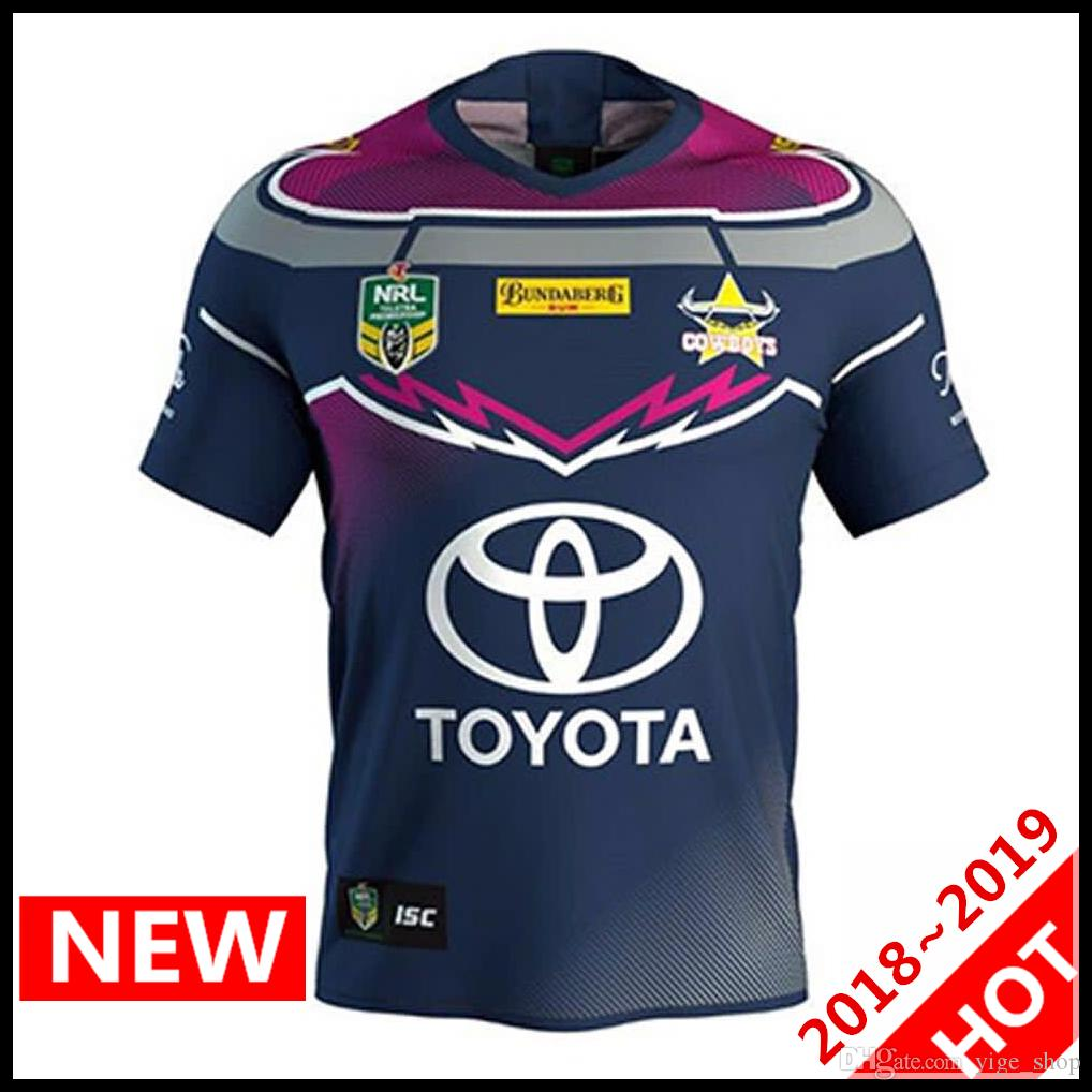 Compre North Queensland Cowboys Indigenous Rugby Jerseys 2018 2019 League  Shirt Nrl Jersey Australia Cowboys Camisetas Indígenas S 3xl A  17.59 Del  ... 0db58b147d2b3