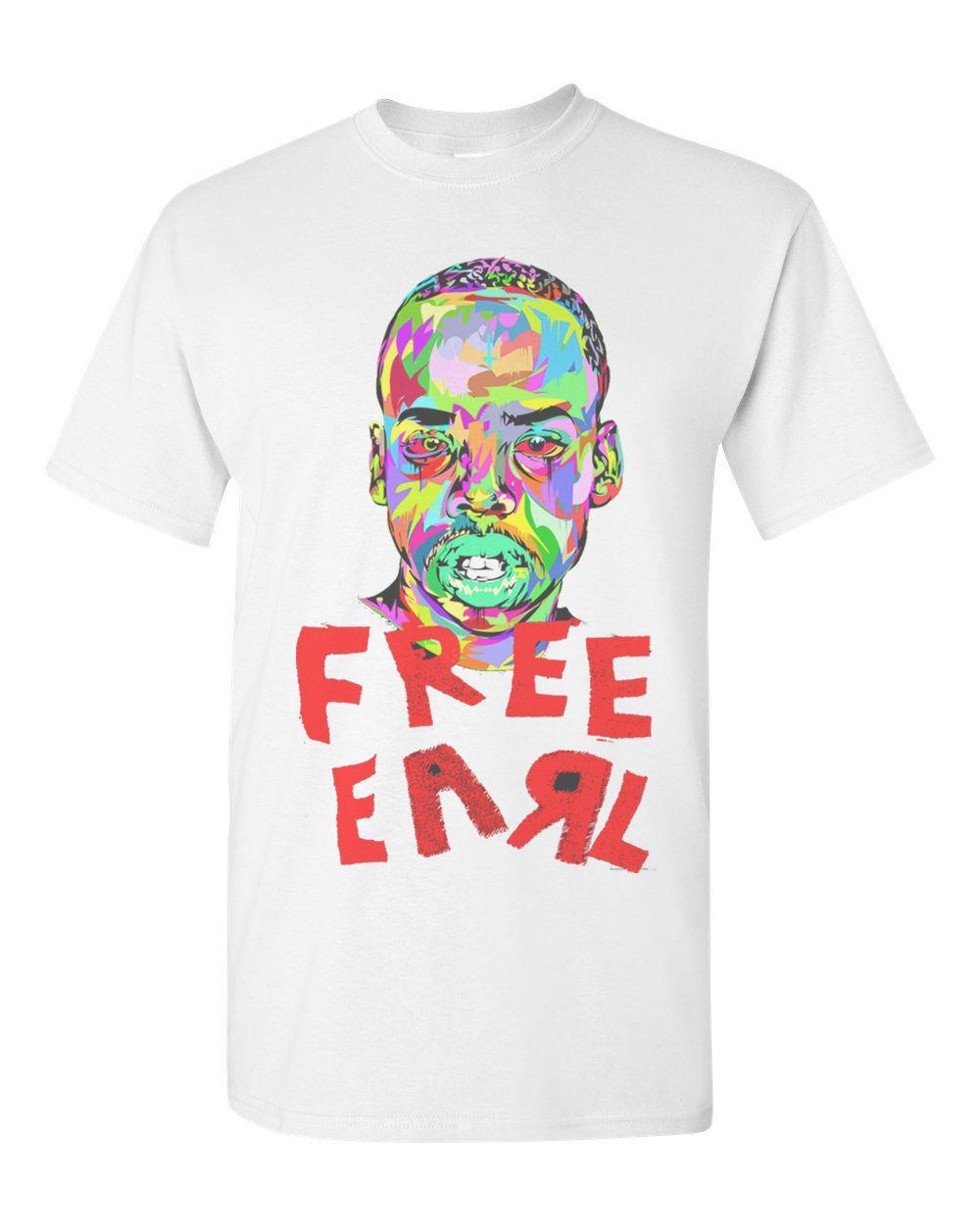 f22812cabd04 Odd Future Earl Sweatshirt T Shirt OFWGKTA Wolf Gang Free Earl Mens T Shirt  2018 New 100% Cotton T Shirts Men Cotton Shirt Tee Shirts Online From ...