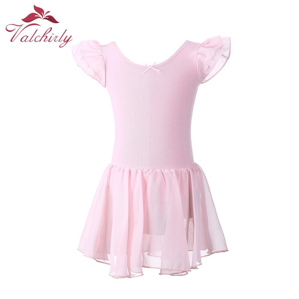 86f49aaf24cd Gymnastics Leotard for Girls Ballet Dress Kids Leotard Tutu Dance ...