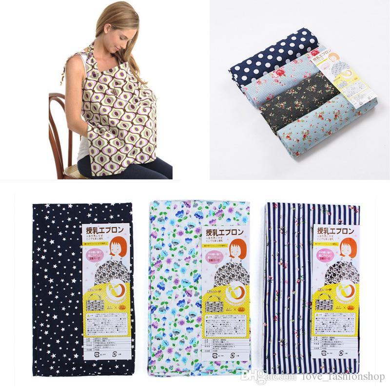 Hot Women Mamma Baby Mammella Copertura Infermieristica Privacy Wrap Infantile Cotone Fiore Coperta Scialle Poncho Allattamento Allattamento al seno Allattamento al seno