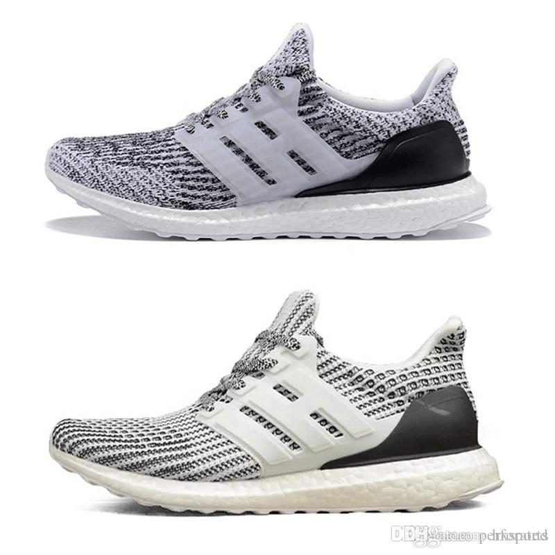 1ca5156f173 2019 2018 Running S 3.0 4.0 Triple Black White Oreo Blue Red Men Women  Hypebeast Sneakers Sports Shoes Size 36 45 From Hxsports