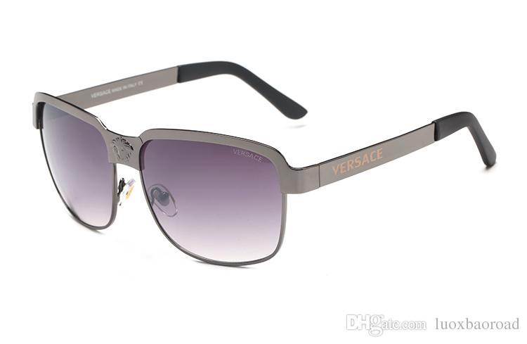 cb0ec9df4d93 High Quality Selling Fashion Designer Sunglasses Metal Square Gold ...